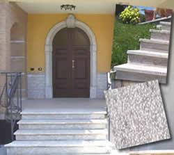 Nusco marmi srl lavorazione marmi e pietre - Scale ingresso esterno ...